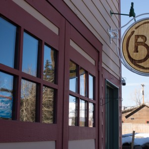 Crested Butte Sign and exterior
