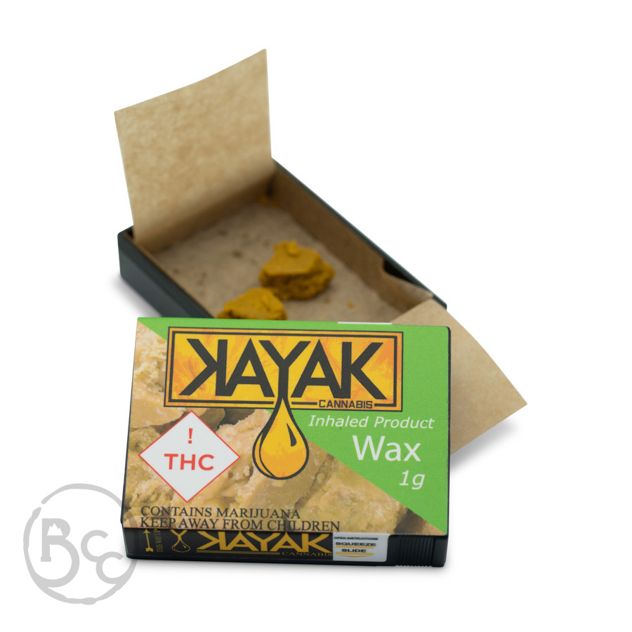 Kayak Cannabis 1g Hybrid Wax
