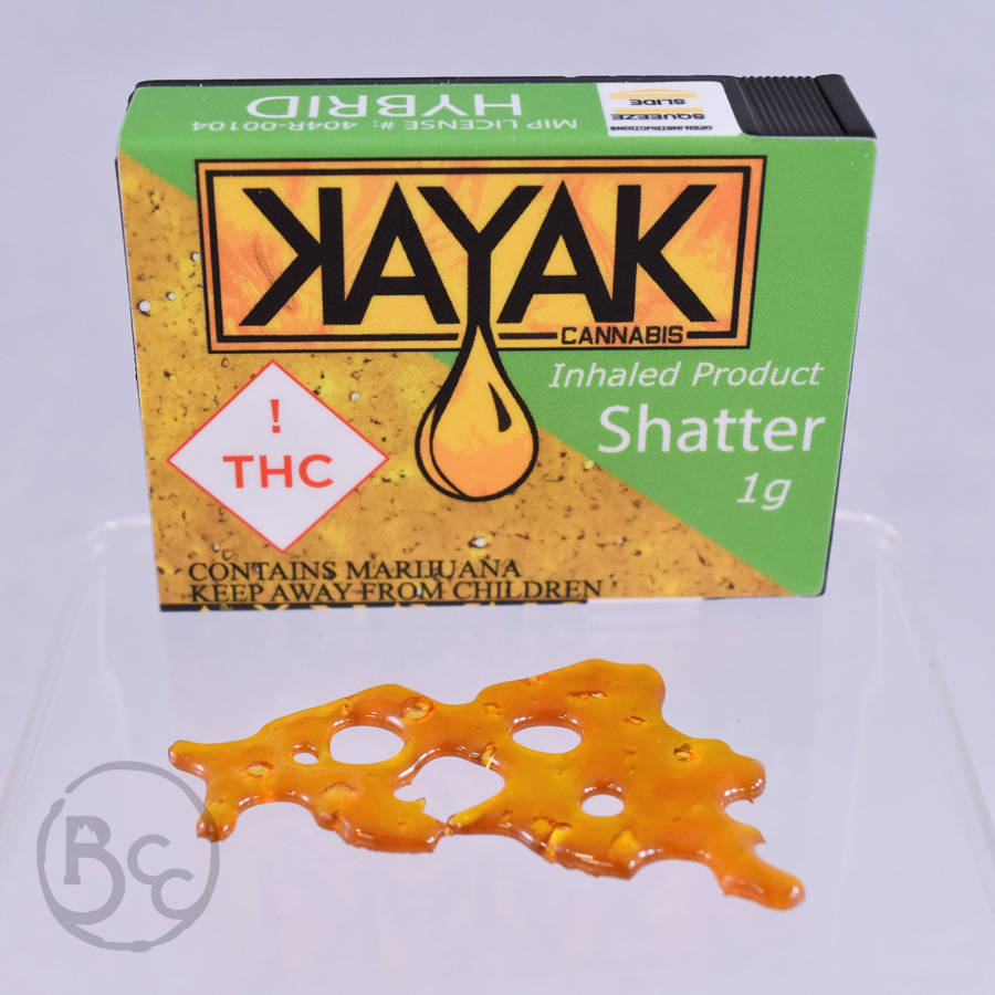 Shatter from Kayak 1g - Hybrid