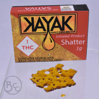 Shatter from Kayak 1g - Sativa