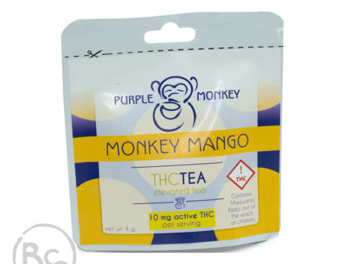 Purple Monkey Mango THC Tea